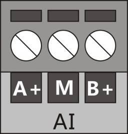Analog input interface